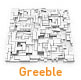 Collection of  Greeble models